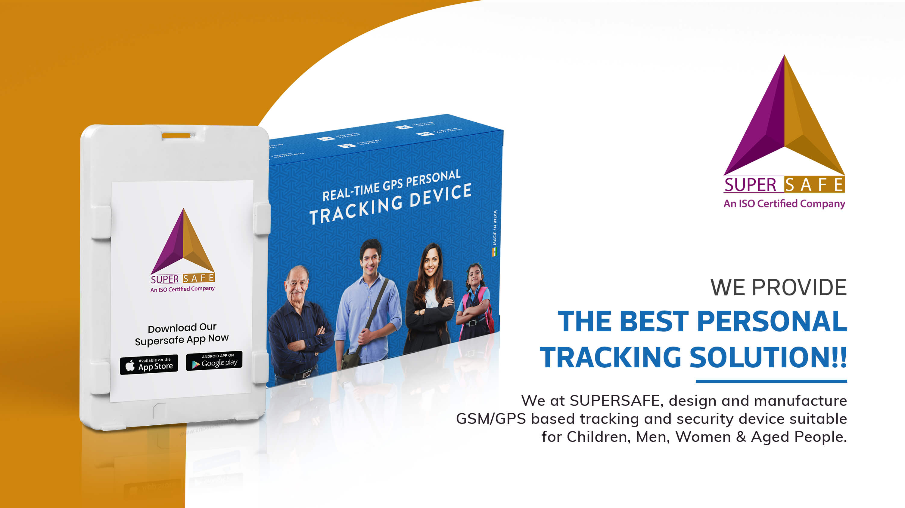 Personal GPS tracker, Child tracking device online | SuperSafe